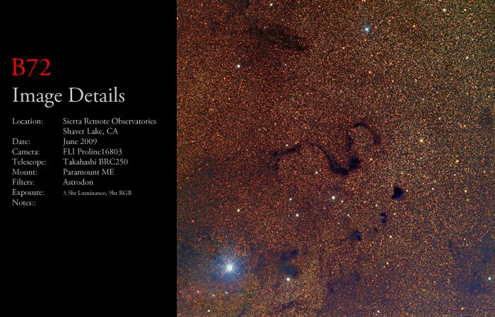 B72 – The Snake Nebula