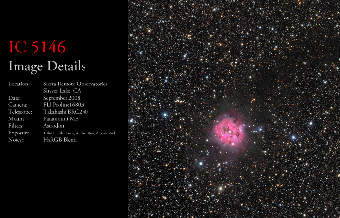 IC 5146 – The Cocoon Nebula