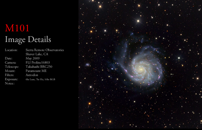 M101 – The Pinwheel Galaxy