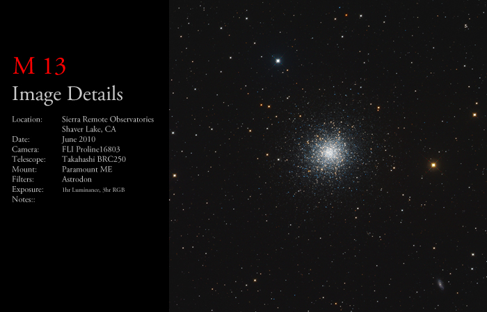M13 – The Hercules Cluster