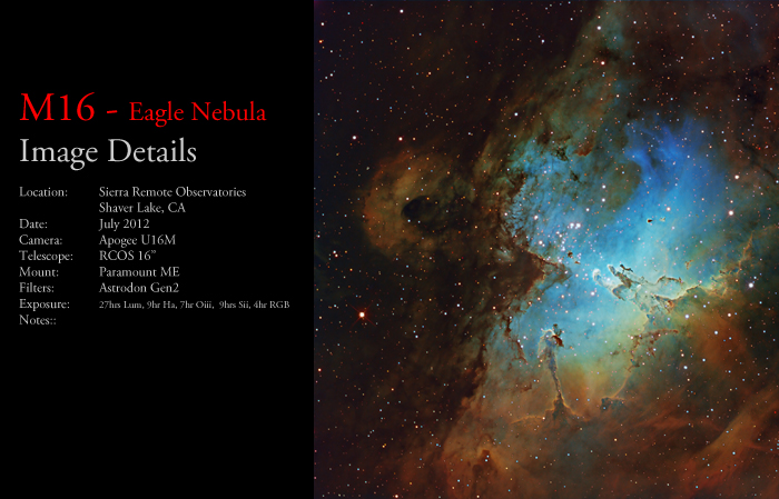 M16 – The Eagle Nebula