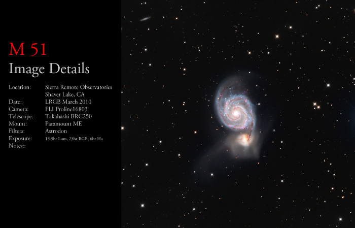 M51 – The Whirlpool Galaxy