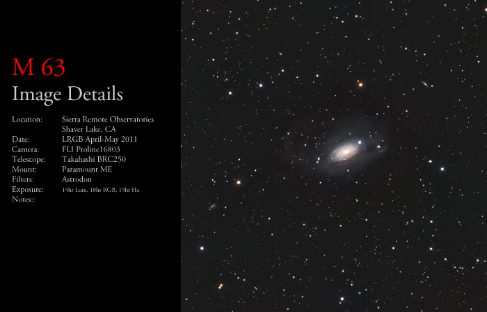 M63 – The Sunflower Galaxy