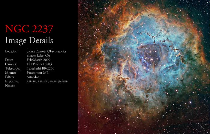 NGC 2237 – The Rosette Nebula