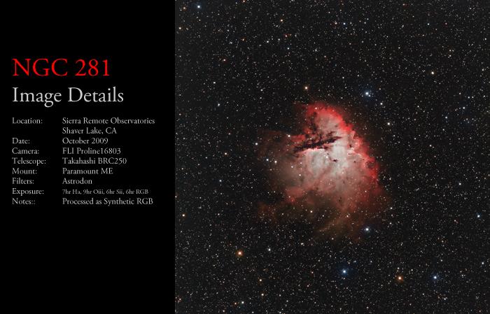 NGC 281 – The Pacman Nebula