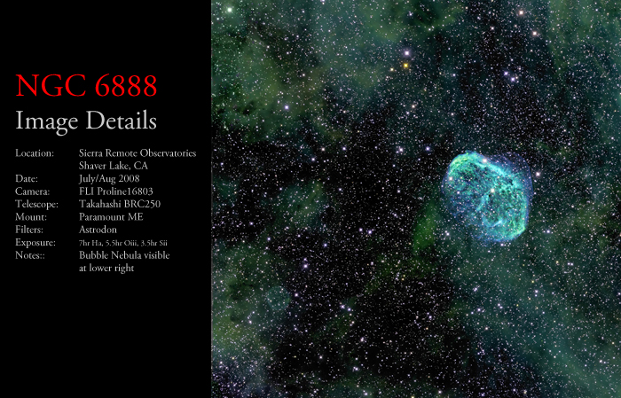 NGC 6888 – The Crescent Nebula