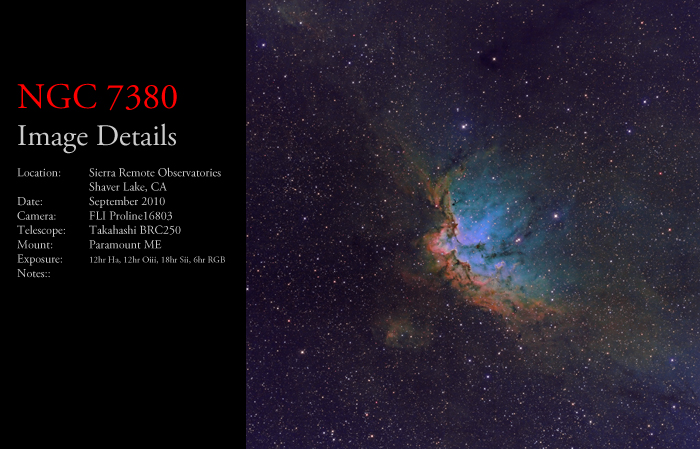 NGC 7380 – The Wizard Nebula