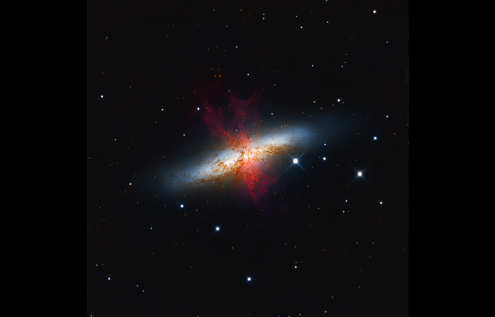 M82 – The Cigar Galaxy