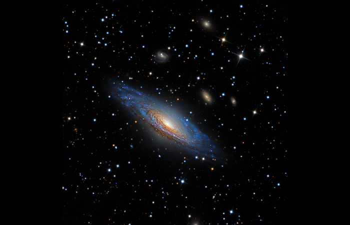 NGC 7331- The Deerlick Group